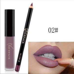 niceface Makeup - JUST IN Waterproof LONG LAST Lip Stick & Liner